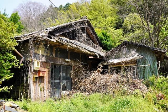 田舎の廃墟